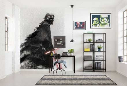 "Digital printing wallpaper ""Star Wars Kylo Vader Shadow"""